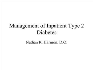 Management of Inpatient Type 2 Diabetes