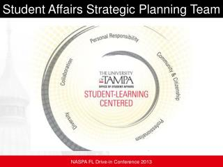 Student Affairs Strategic Planning Team