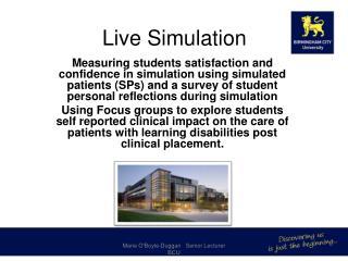 Live Simulation