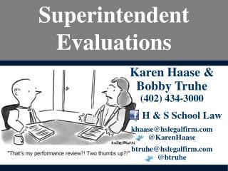 Superintendent Evaluations