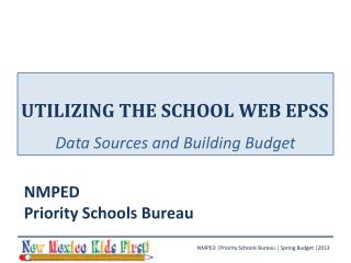 utilizing the school web epss