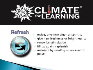 revive, give new vigor or spirit to give new freshness or brightness to renew by stimulation