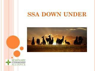 ssa  down under