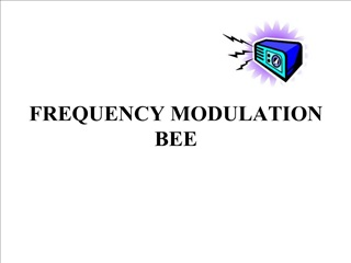 FREQUENCY MODULATION  BEE