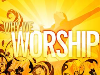 He is worthy! God is worthy of our praise!  He  alone  is worthy of glory and honor!