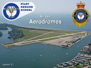 Air Law Aerodromes