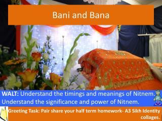 Bani  and  Bana