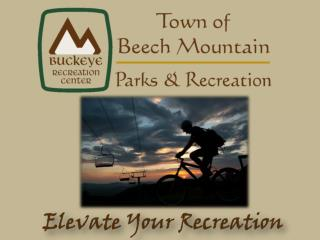Beech Mountain Parks and Recreation Summer 2009