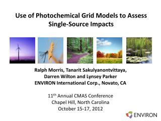Use of Photochemical Grid Models to Assess Single-Source Impacts