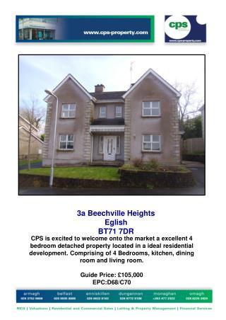 3a Beechville Heights  Eglish  BT71 7DR