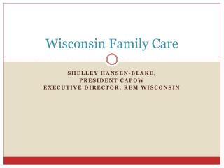 Wisconsin Family Care