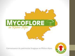 Connaissance du patrimoine fongique en Rhône-Alpes