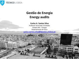 Gestão de Energia Energy audits