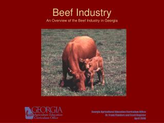 Beef Industry An Overview of the Beef Industry in Georgia