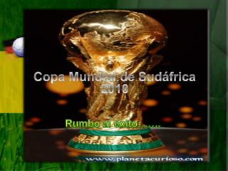 Copa Mundial de Sudáfrica 2010