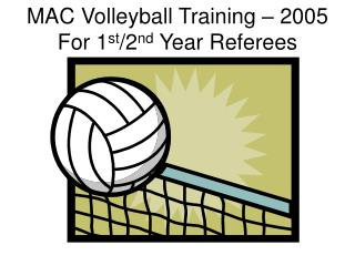 MAC Volleyball Training