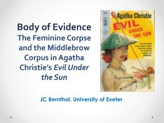 JC Bernthal, University of Exeter