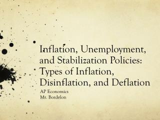 AP Economics Mr. Bordelon