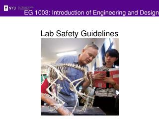 EG 1003: Introduction of Engineering and Design