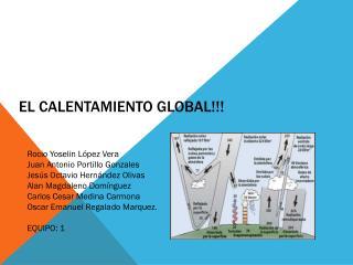 El CALENTAMIENTO GLOBAL!!!
