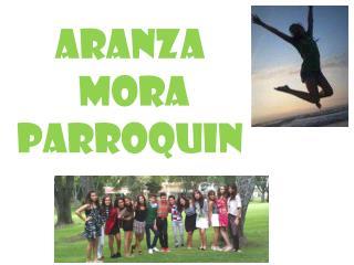 Aranza  mora  parroquin