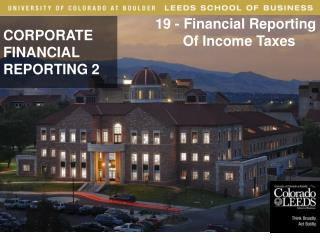 CORPORATE   FINANCIAL  REPORTING 2