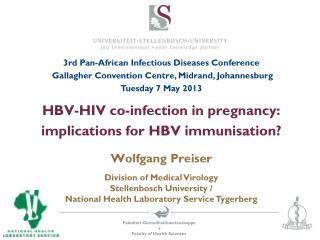 HBV -HIV co-infection in pregnancy: implications for HBV immunisation?