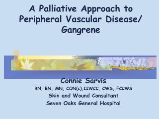 A Palliative Approach to Peripheral Vascular Disease