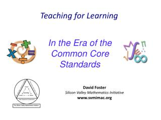 In the Era of the Common Core Standards
