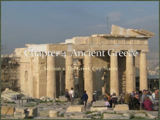 Chapter 4-Ancient Greece