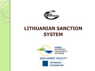 LITHUANIAN SANCTION  SYSTEM