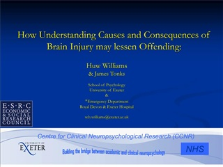 How Understanding Causes and Consequences of Brain Injury may lessen Offending: