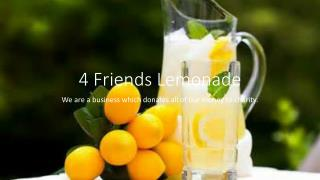 4 Friends Lemonade
