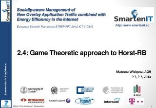 2.4:  Game Theoretic approach  to  Horst-RB