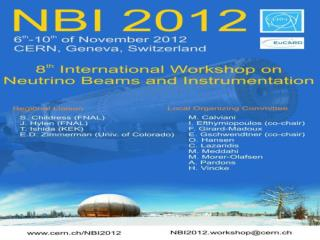 The  NBI series workshops started in  1999: the forum  where