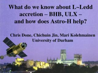 What do we know about  L~Ledd  accretion – BHB, ULX – and how does  Astro -H help?