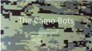 The Camo Bots