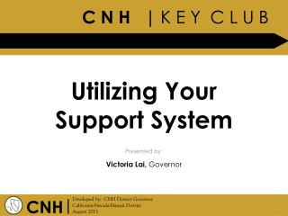 Utilizing Your Support System