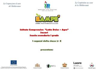 """Istituto Comprensivo  """"Latte Dolce – Agro"""" Sassari Scuola secondaria I grado"""
