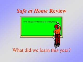 Safe at Home Review