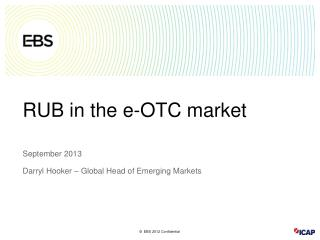 RUB in the e-OTC market