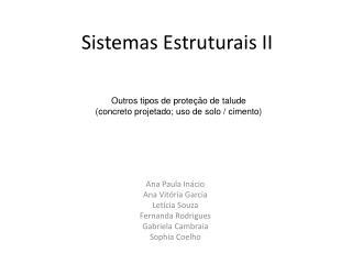 Sistemas Estruturais II