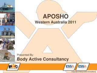 APOSHO Western Australia 2011