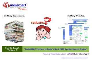 How To Search Tenders at Tenders.Indiamart.com