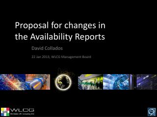 Proposal for changes in the Availability Reports