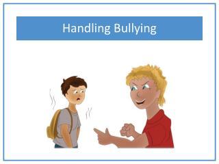 Handling Bullying