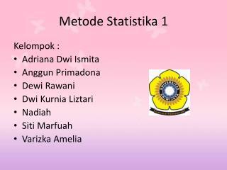 Metode Statistika  1