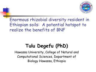 Tulu Degefu (PhD )