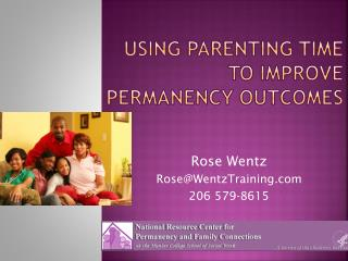 Using parenting time to improve permanency outcomes