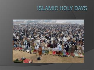 Islamic Holy Days